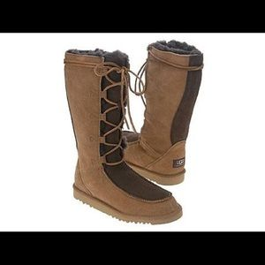 UGG Whitley Lace Up Boots
